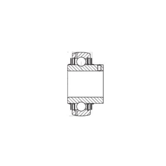 Rodamientos insertos - RODAMIENTO INA GYE60-KRR-B