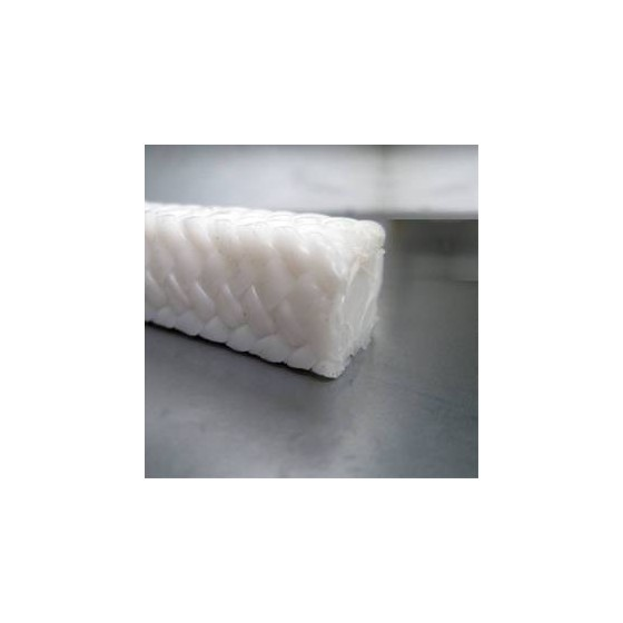 Empaquedaturas - Empaquetadura Teflón PTFE 12x12mm (por metros)