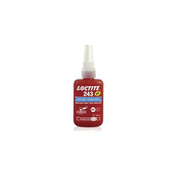 Productos químicos - Fijador de roscas Loctite 243 50 ml